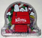 Snoopy on Knott's Berry Farm Doghouse Candy Container