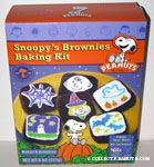 Halloween Snoopy's Brownies Baking Kit