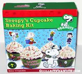 Christmas Snoopy's Cupcake Baking Kit