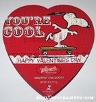 Snoopy on Skateboard 'You're Cool' Chocolate Box