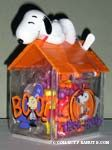 Snoopy on Halloween Doghouse