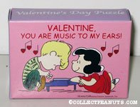 Schroeder and Lucy 'Valentine, You are music to my ears!' Puzzle