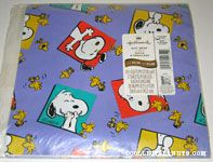 Snoopy and Woodstock laughing in squares