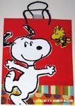 Snoopy & Woodstock dancing Gift Bag