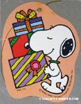 Snoopy carrying gifts Gift Tag