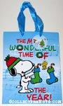 Snoopy & Woodstock hanging Stockings Gift Bag