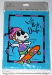 Snoopy skateboarding 'Let's Party, Dude!' Invitations