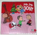 A Charlie Brown Christmas mechanical Christmas Card