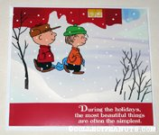 Charlie Brown & Linus Christmas Card