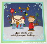 Charlie Brown & tree Christmas Card
