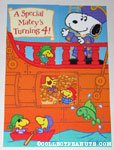 Pirate Snoopy & Woodstocks Birthday Greeting Card