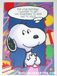 Snoopy Birthday Greeting Card