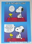 Snoopy & Woodstock Father's Day Greeting Card