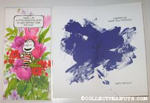 Linus 'Grape Jelly Sandwich' Birthday Greeting Card