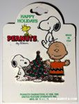Snoopy, Charlie Brown and Christmas Tree Pin