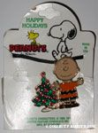 Charlie Brown by Christmas Tree Necklace