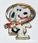 Snoopy Astronaut Pin