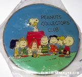 Peanuts Gang around Snoopy's doghouse Peanuts Collector Club Pin