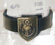 Snoopy nautical crest with anchor Ring