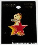 Snoopy Flying Ace on Stars Pin