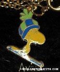 Woodstock wearing skiis Necklace