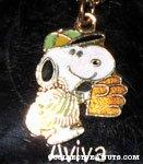 Baseball Snoopy Necklace