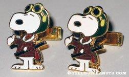 Snoopy Flying Ace Cufflinks