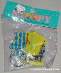 Snoopy & Woodstock at Beach Friendship Keychains