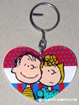 Peanuts & Snoopy Plastic Keychains