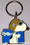 Flying Ace Metal Keychain