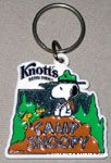 Beaglescout Snoopy & Woodstocks on top of Hill Keychain