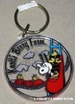 Snoopy & Woodstock riding Rollercoaster Keychain