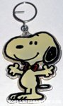 Snoopy with outstretched arms & bowtie Keychain