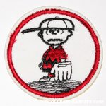 Charlie Brown on Pitchers Mound Patch