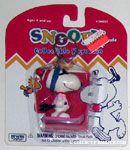 Snoopy Skiing Keychain