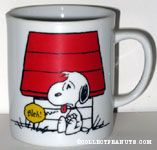 Snoopy with sour look on his face 'Bleah' Mug