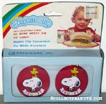 Snoopy & Woodstock Napkin Clips