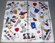 Peanuts Gang scenes Cloth Napkins