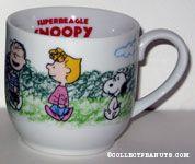 Peanuts Gang walking Ceramic Sample Only Mug