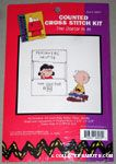 Lucy & Charlie Brown Cross-stitch Kit