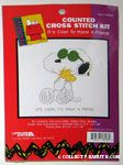 Joe Cool Hugging Woodstock Cross-stitch Kit