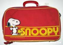 Snoopy and Woodstock Suitcase