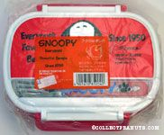 Snoopy portrait 'Everyone's Favorite Beagle' Bento Box with forks
