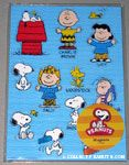 Peanuts Gang Poses Magnet Sheet