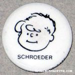 Schroeder portrait Magnet
