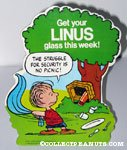 Linus 'Struggle for Security' Glass Promo