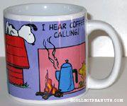 Snoopy and Woodstock Scenes Mug
