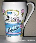 Snoopy Soda Jerk Scene