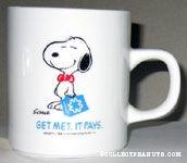 Snoopy Salesman Mug