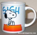 Snoopy on Doghouse Mug